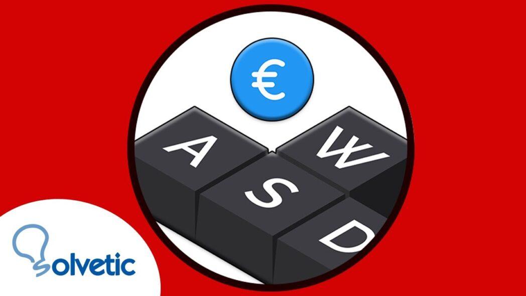 como escribir el simbolo del euro en el teclado resuelto