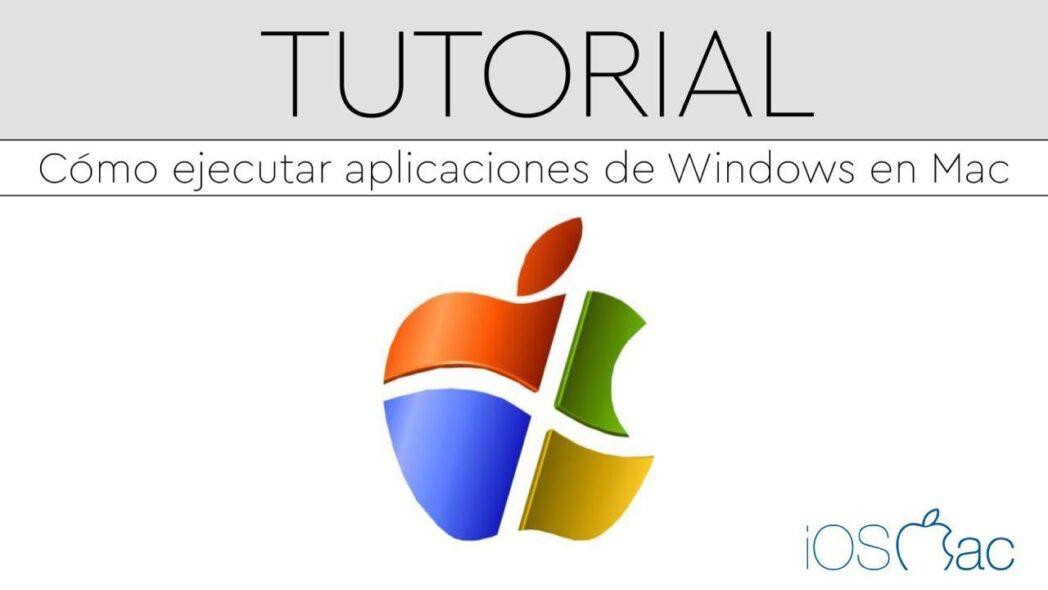 como instalar programas de windows en una mac
