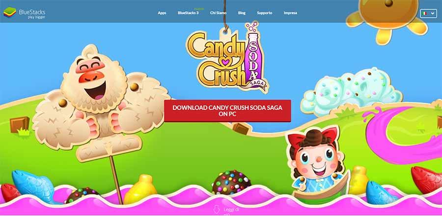 como instalar y jugar candy crush saga en pc y mac