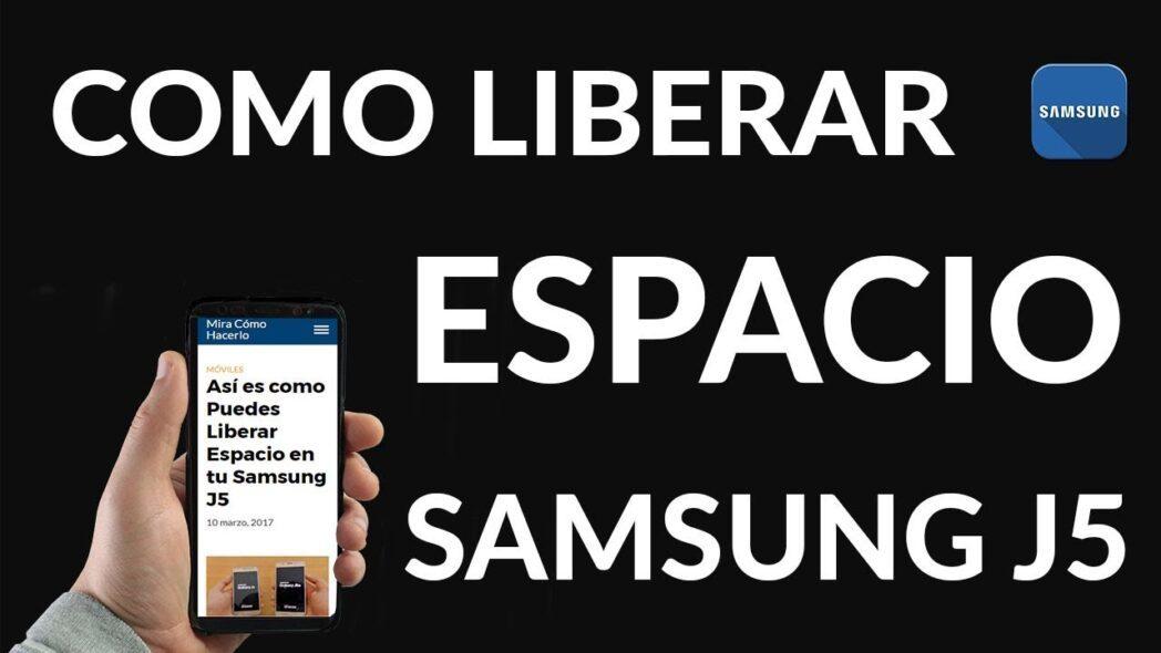 como liberar espacio facilmente en samsung j3 j5 y j7