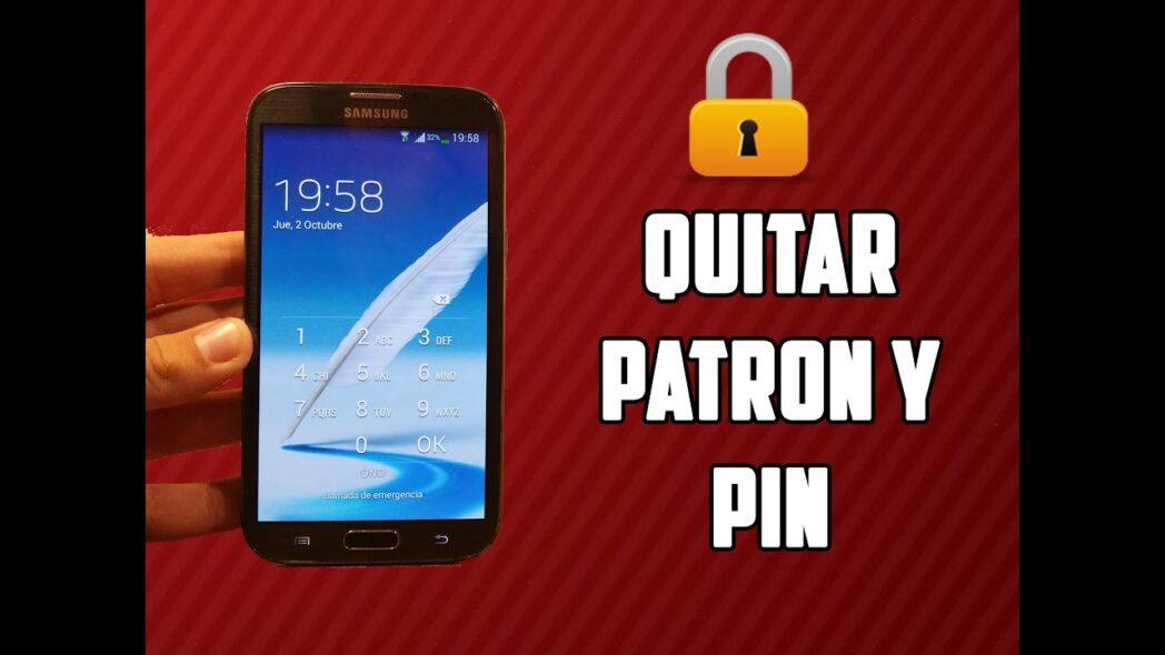 como omitir el pin de android
