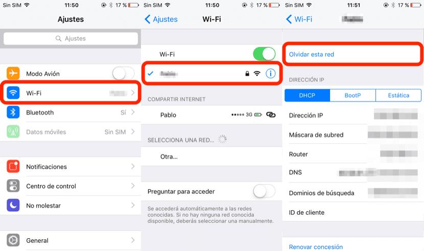 como solucionar problemas de wi fi en iphone