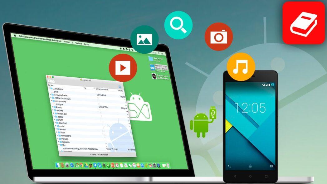 como transferir archivos de mac a un dispositivo android