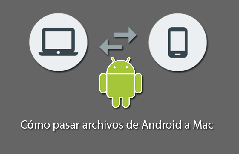 como transferir fotos de android a mac