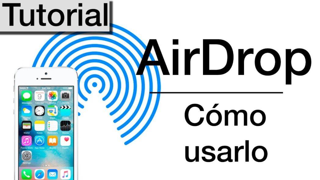 como usar airdrop en iphone