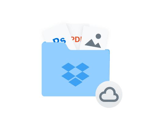 como usar dropbox para almacenar archivos en linea y transferirlos a la nube