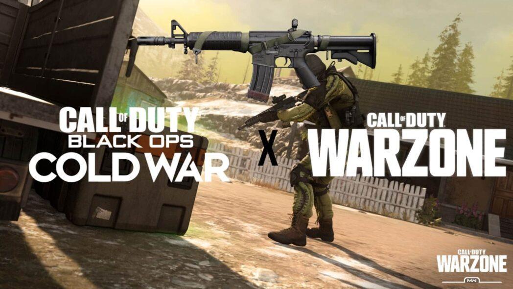 como usar las armas de la guerra fria black ops en warzone