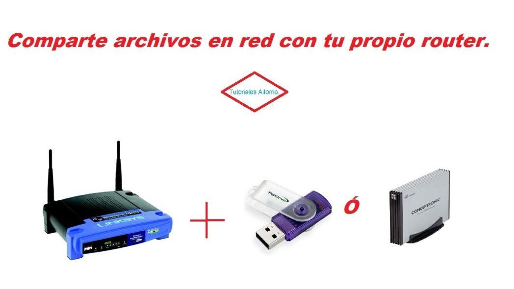 conecte la unidad a su enrutador para compartir archivos en la red