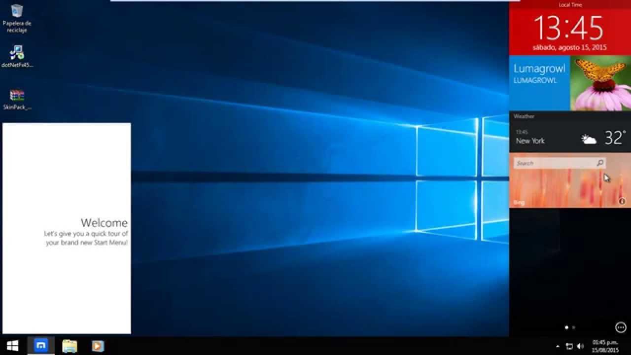 convierta windows 8 en windows 7 o