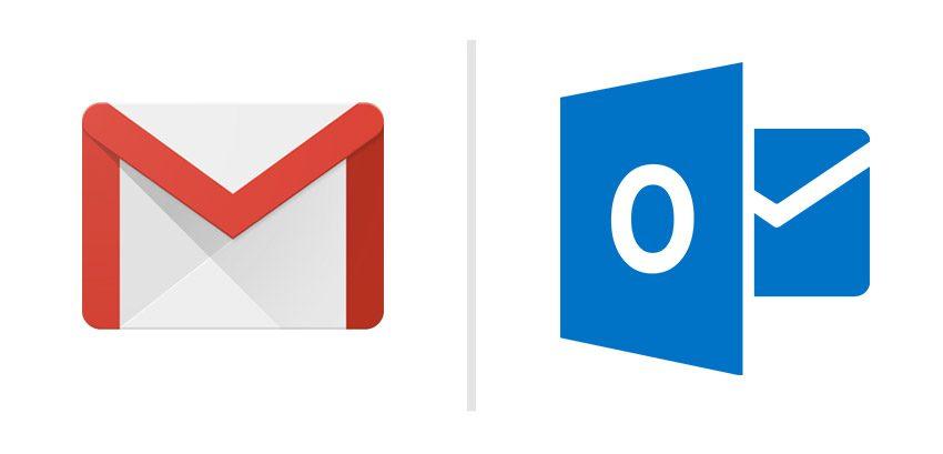 cual es el mejor correo para usar entre gmail y outlook com