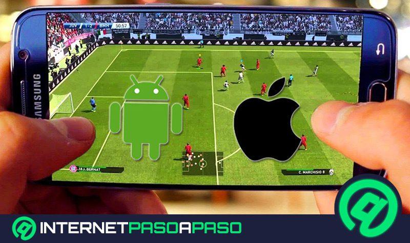 cuales son los mejores juegos de futbol sin conexion a internet y wi fi que puedes jugar en android y iphone lista 2019