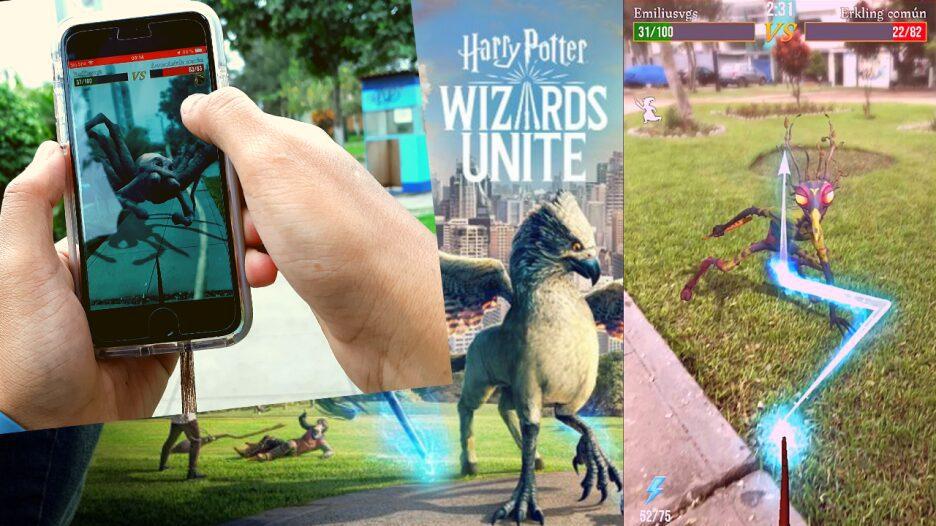 descubre el mundo de harry potter en realidad aumentada en wizards unite