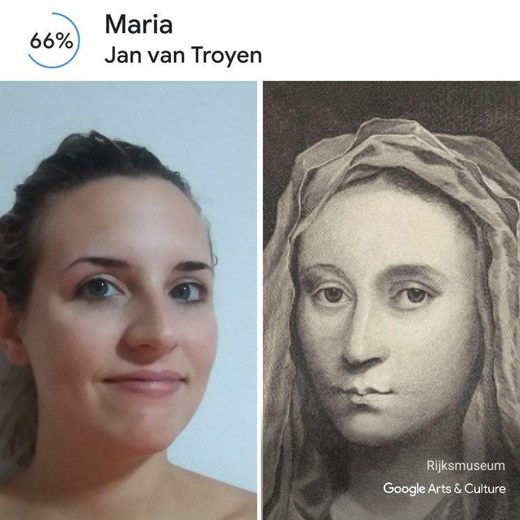 descubre que retrato se parece a nosotros con google art selfie