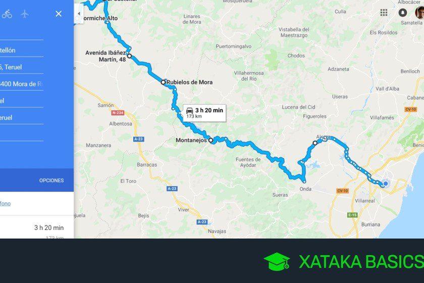 dibuja rutas y crea rutas en google maps