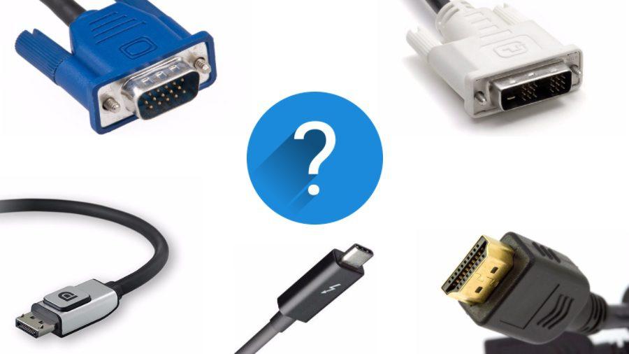 diferencias entre cables hdmi y vga dvi y displayport