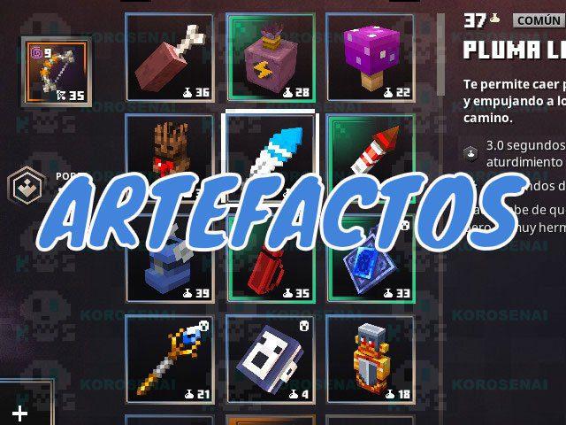 dungeons minecraft una guia de los mejores artefactos