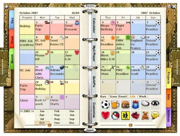 el mejor software de calendario y agenda para pc gratis y en italiano