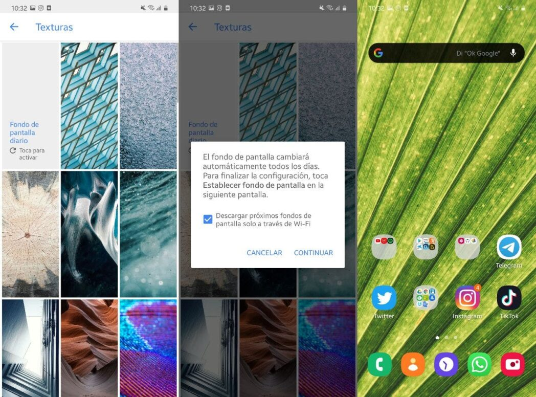 elegir fondo de pantalla en android mejores aplicaciones