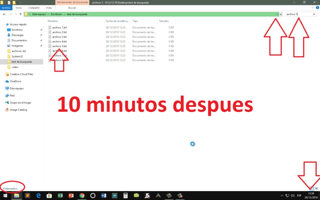 encuentra archivos que faltan despues de instalar windows 10