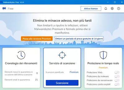 escaneo gratuito de malware con malwarebytes 4 para pc