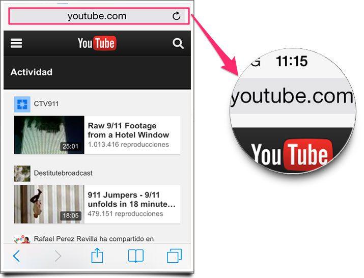 escuche el audio de youtube solo en segundo plano en el iphone o ipad
