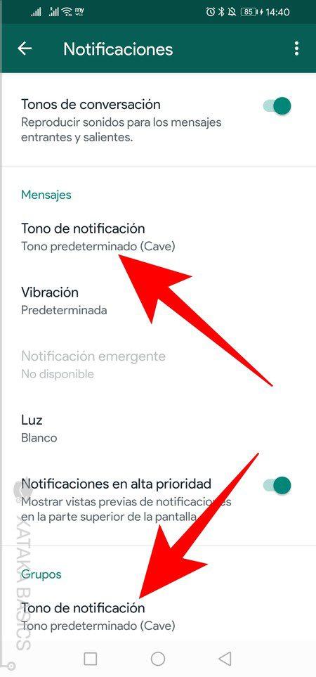 establecer mensajes de voz de whatsapp como tonos de llamada en android