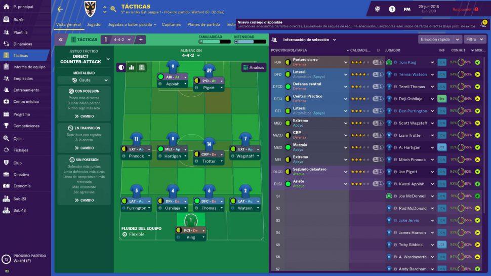 football manager 2020 la mejor tactica para ganar