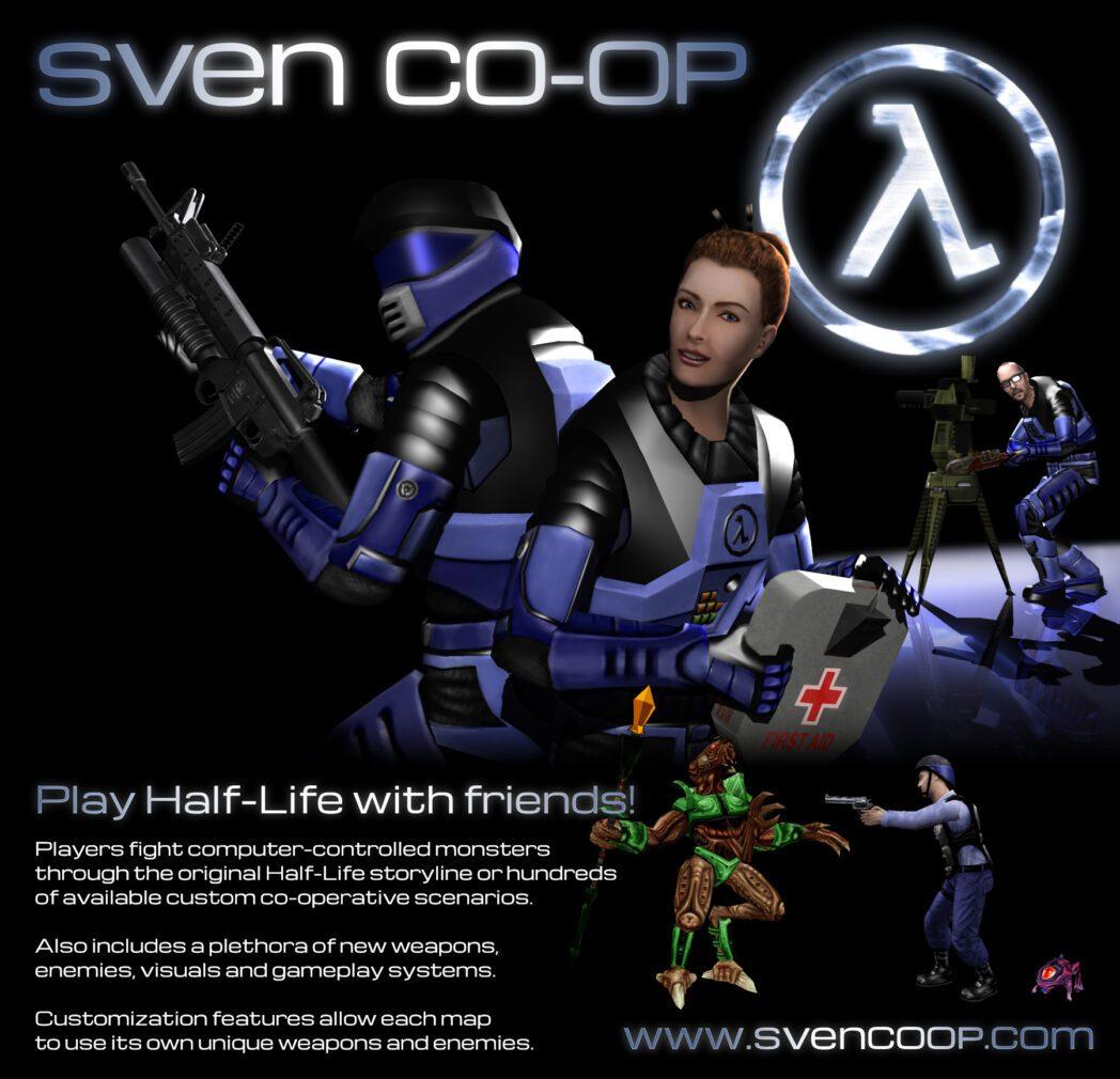 juega half life en pc gratis con sven co op