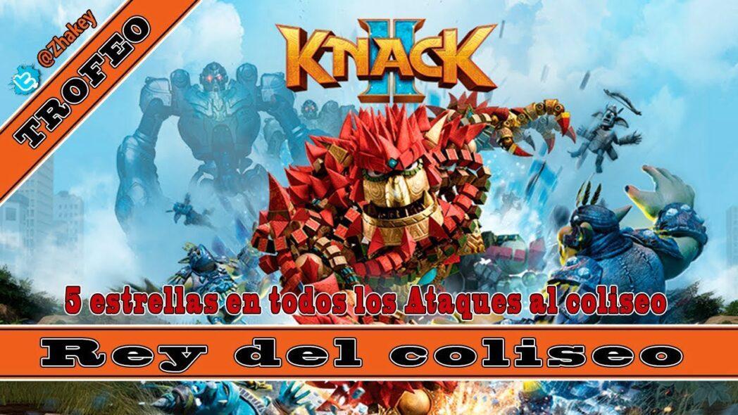 knack 2 ataque temporal y coliseo guia de video