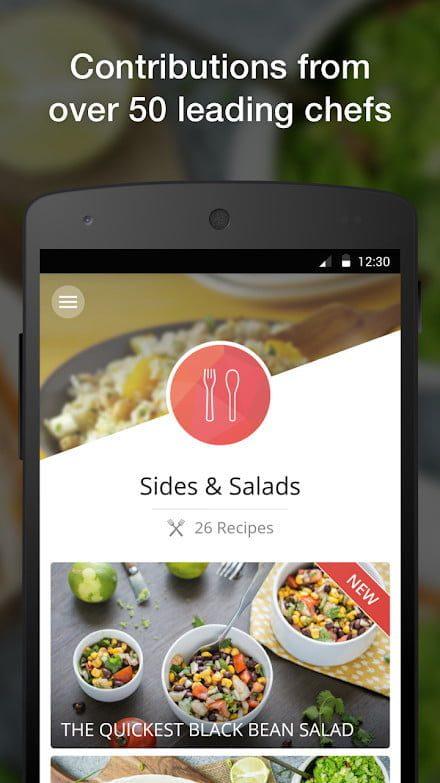 las mejores aplicaciones de recetas android y iphone