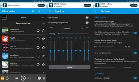 las mejores aplicaciones para escuchar radio fm y transmitir musica en android y iphone