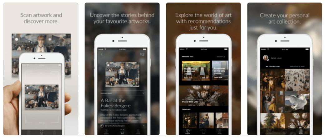 las mejores aplicaciones para visitar museos del mundo iphone y android