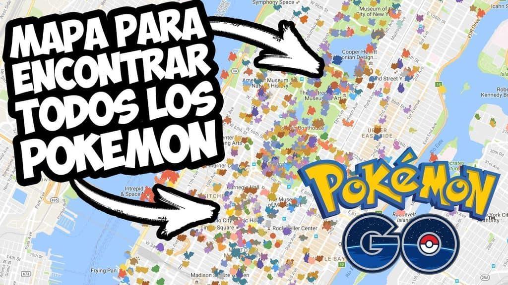 las mejores aplicaciones y mapas para encontrar pokemon