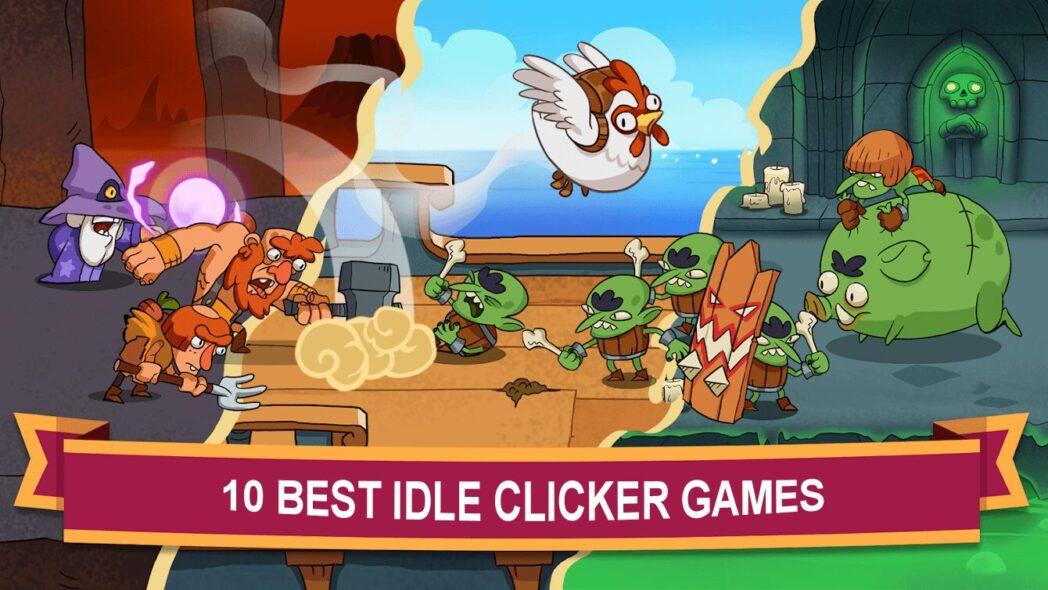 los mejores juegos de clicker o inactivos en android y iphone