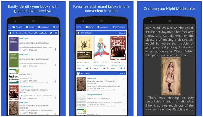 los mejores lectores de libros electronicos de android