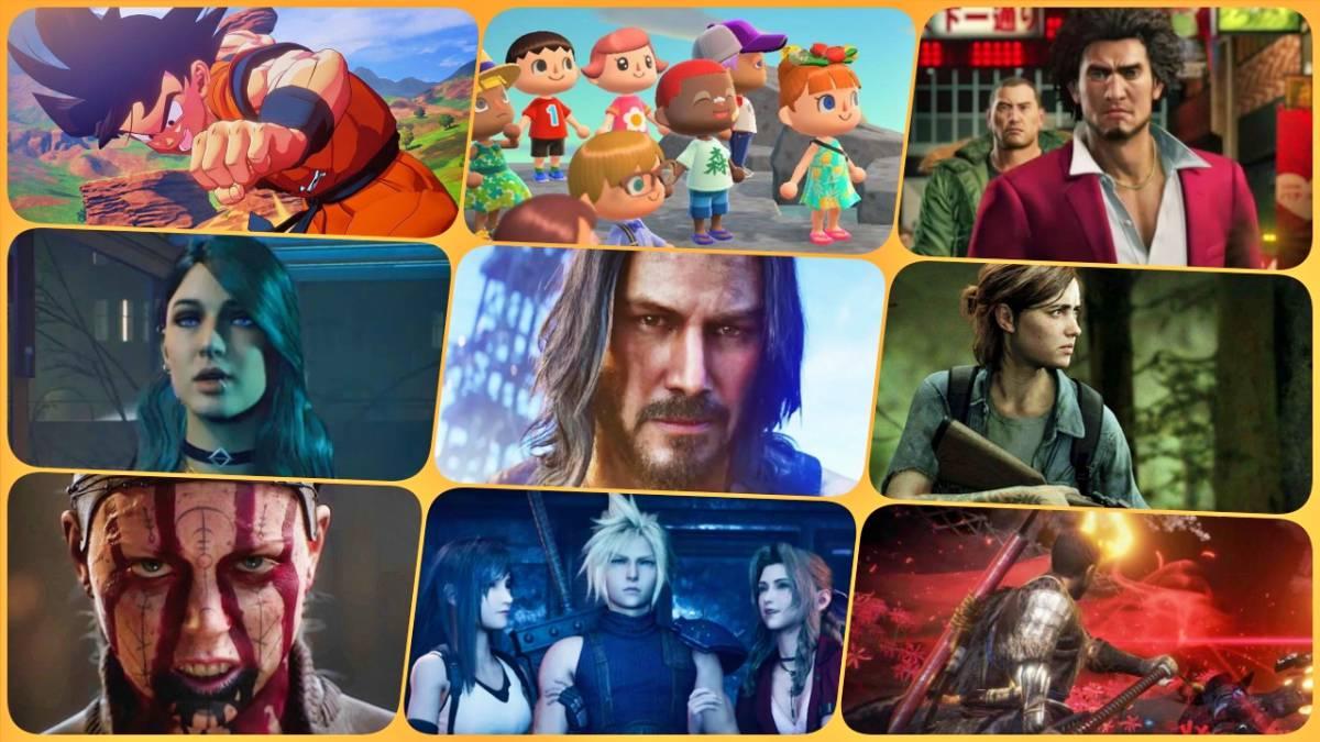 los mejores videojuegos salen en 2020