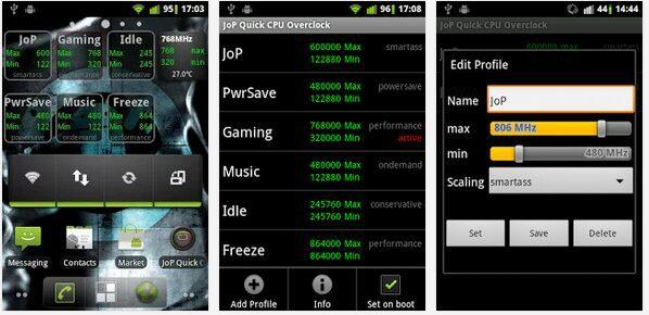 overclocking en android 5 aplicaciones de overclocking de cpu