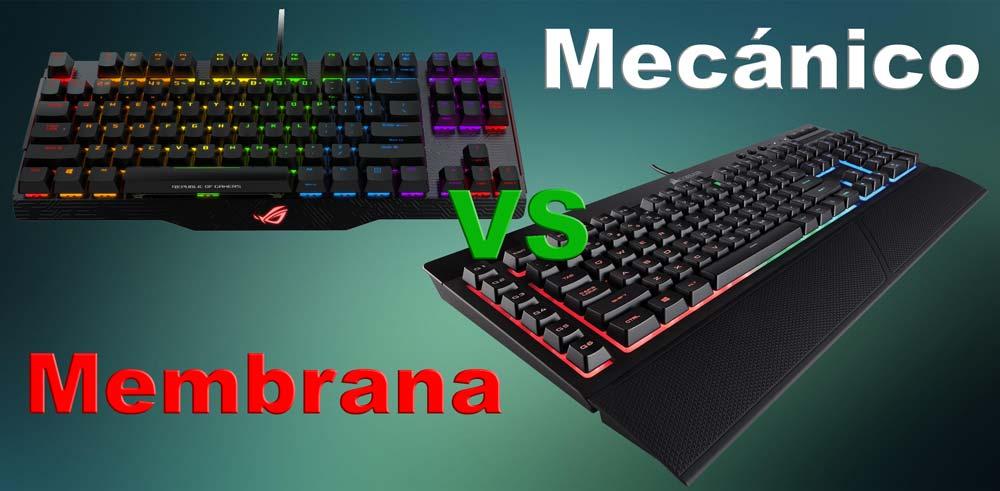 porque un teclado mecanico es mejor que una membrana convencional