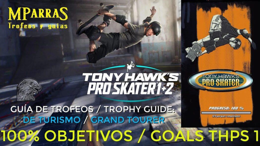 pro skater tony hawk 1 2 aqui hay una lista completa de todos los trofeos