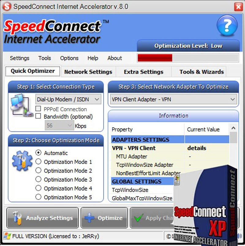 programas para un funcionamiento rapido de la red y de internet