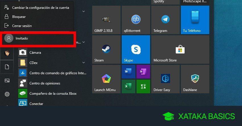 proteja las cuentas de administrador y de invitado de windows para iniciar sesion en la computadora
