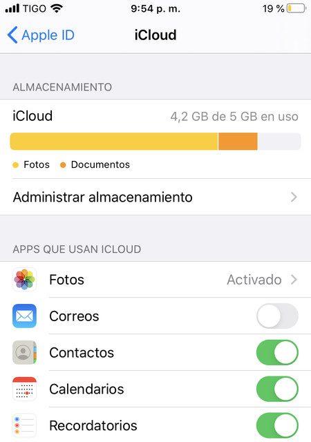 que hacer para liberar espacio en icloud para iphone