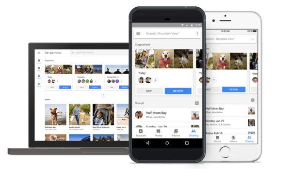 recopila automaticamente fotos familiares en google fotos