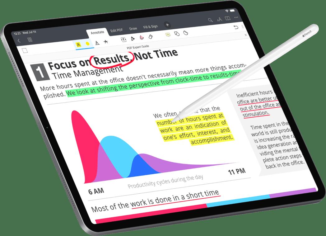 resalte texto en ipad y iphone de archivos pdf libros y paginas web