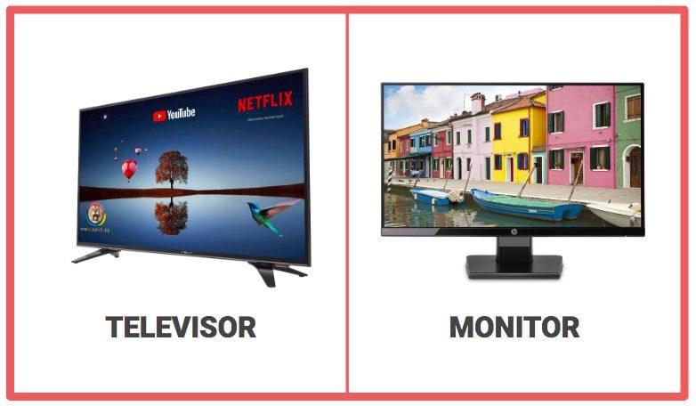 resoluciones de pantalla para televisores y monitores y para fotos