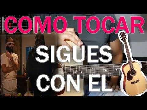 sigue los acordes de guitarra del video