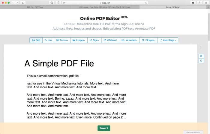 sitios gratuitos para editar archivos pdf en linea gratis