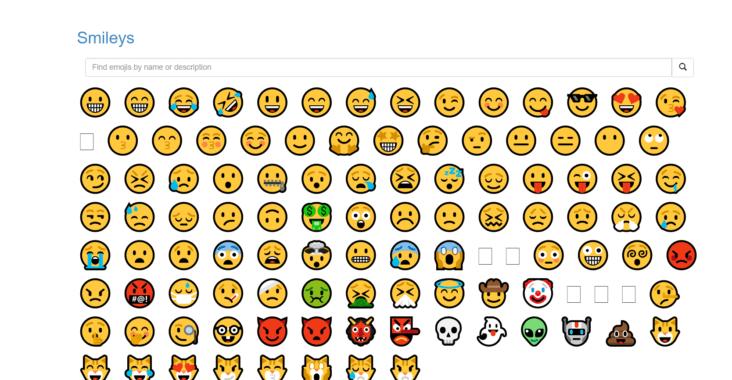 sitios para descargar emojis gratis para pc