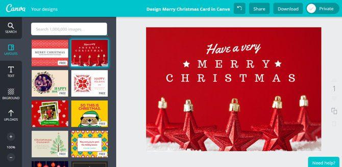 sitios web para crear tarjetas para navidad y cumpleanos