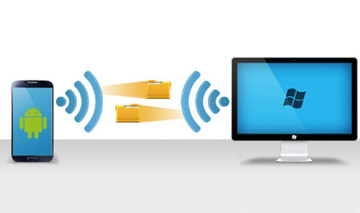 transferencia wi fi de pc a telefono inteligente